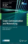 Green Communication and Networking